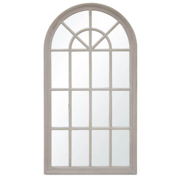 Íves szürke fali tükör 70x130cm