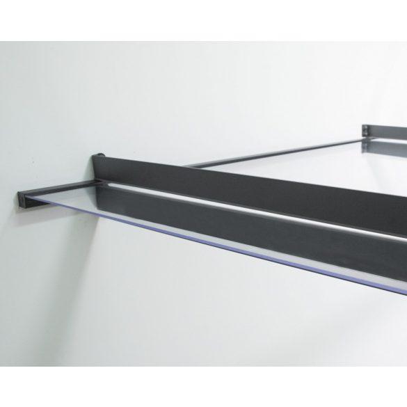 Előtető polikarbonát, aluminium - Nancy 1500