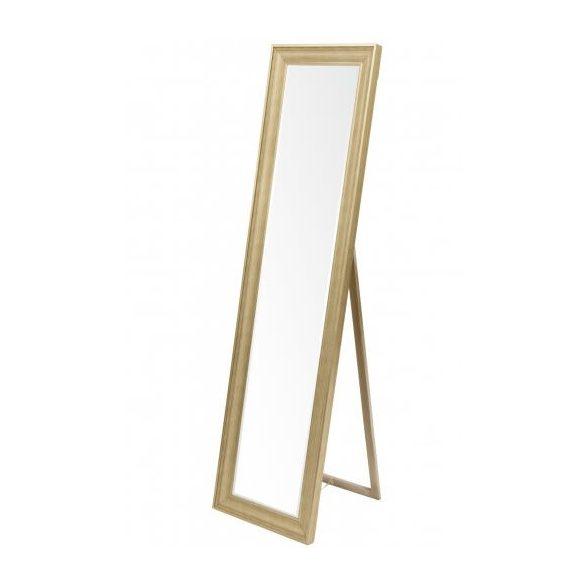 Álló tükör arany 167x45cm