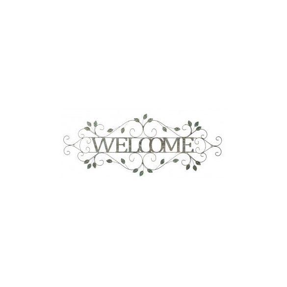 Fali dekoráció Welcome