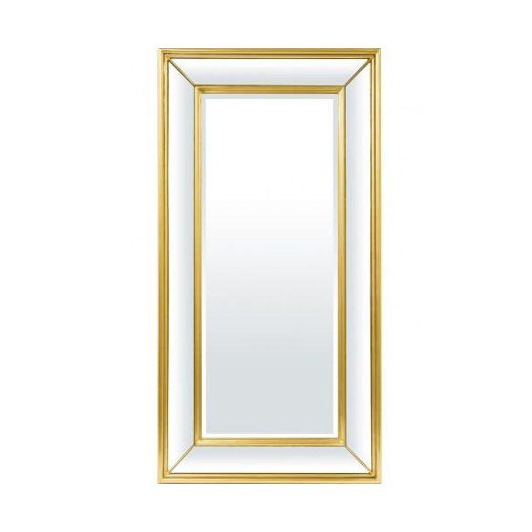 Fali tükör arany 120x61cm