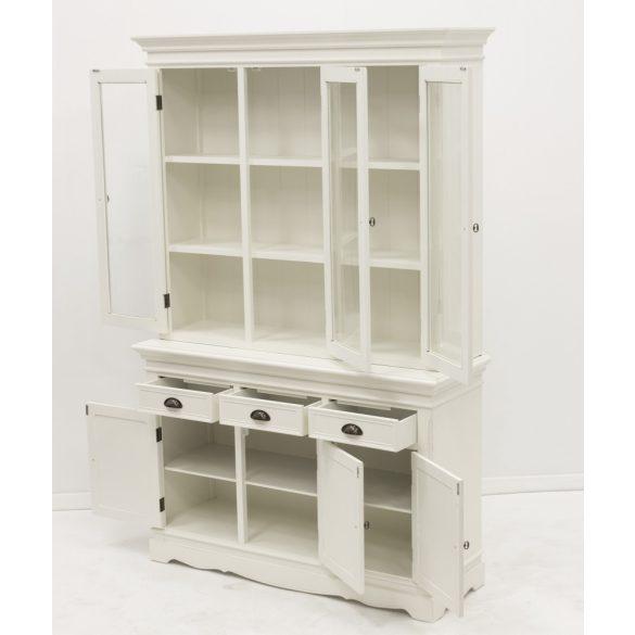 Klasszikus tálaló szekrény fehér 123