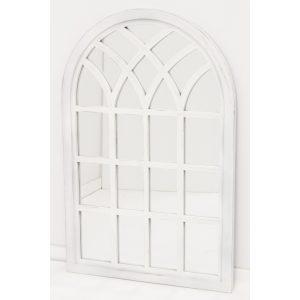 Fali tükör fehér 116x75cm