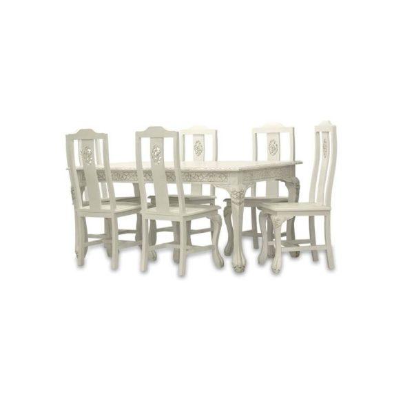 Asztal krém színű 157x80cm