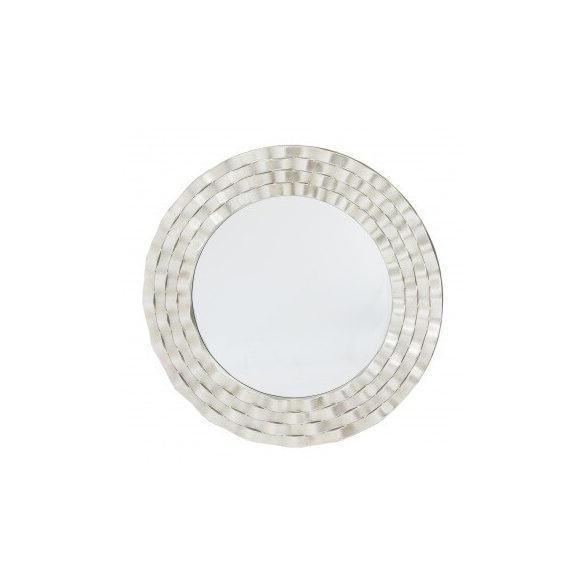 Kör alakú tükör ezüst 90x90cm