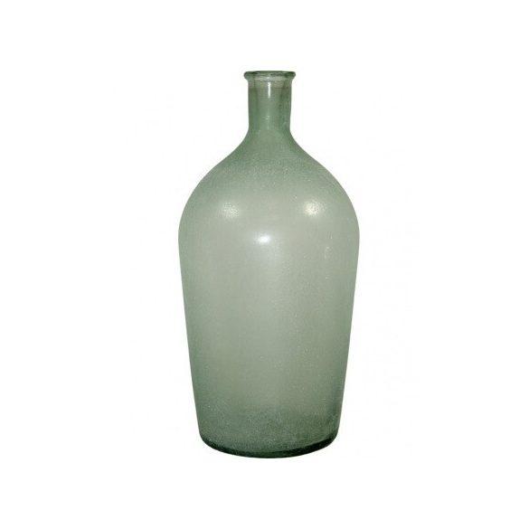Üveg váza nagy matt 42x20cm