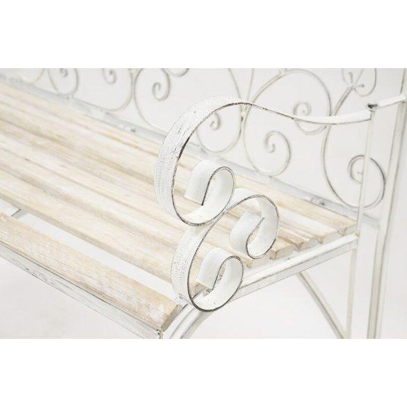 Kerti pad fehér 92x111x50cm