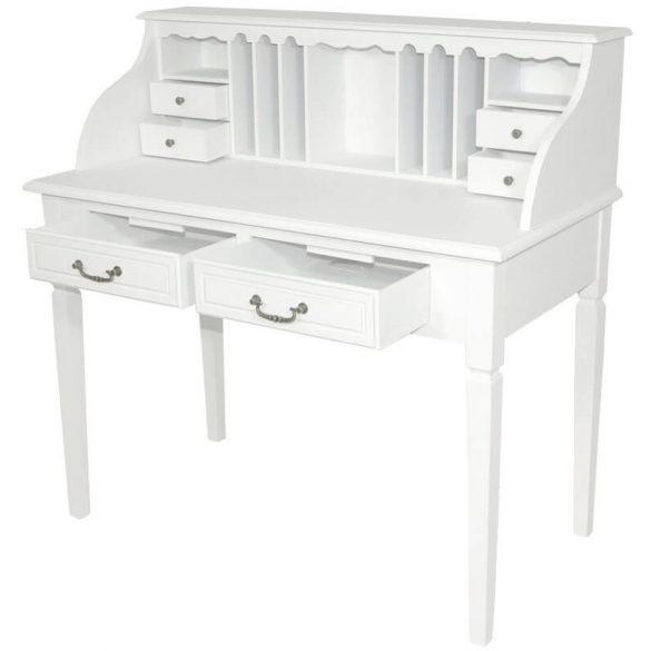 Íróasztal szekreter fehér 109x55cm