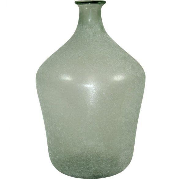 Üveg váza közepes matt 37x23cm