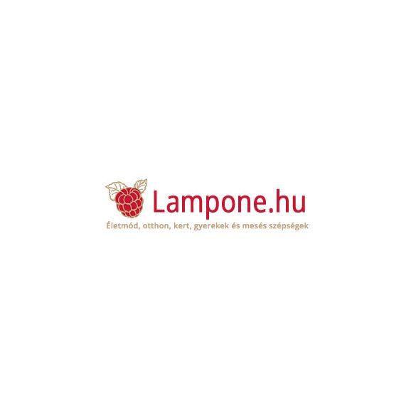 Fali tükör ablakkal fehér 57,5x77,5cm