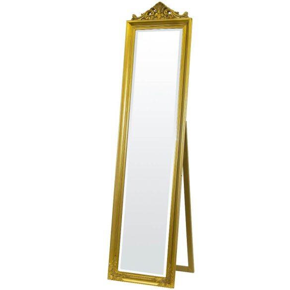 Álló tükör arany 176x45cm