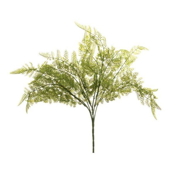 Műnövény páfrány zöld 38x40cm