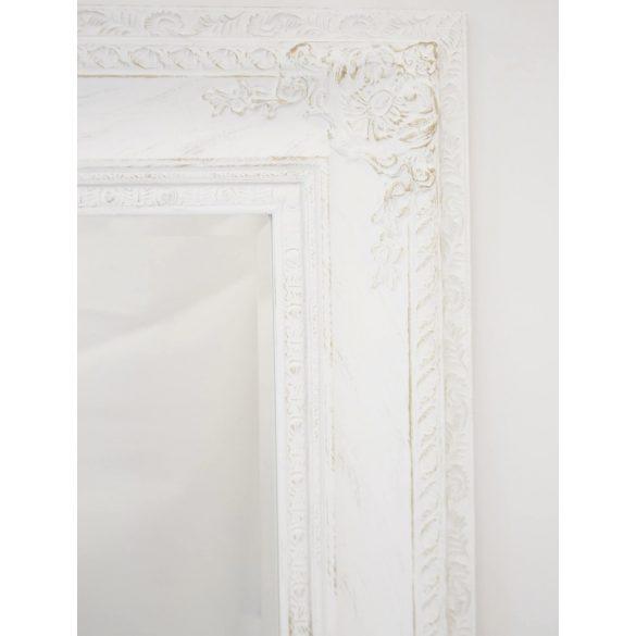 Fali tükör fehér 150x90cm