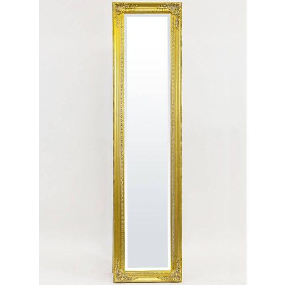 Álló tükör arany 155x40cm