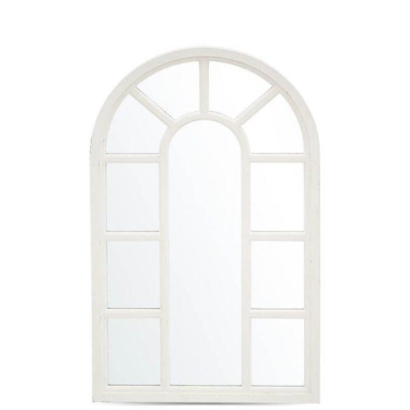 Íves fehér fali tükör 50x85cm