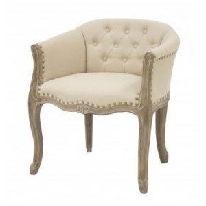 Fotel krém színű 69,5x63cm