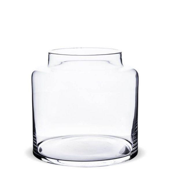 Üveg tároló 18x19cm
