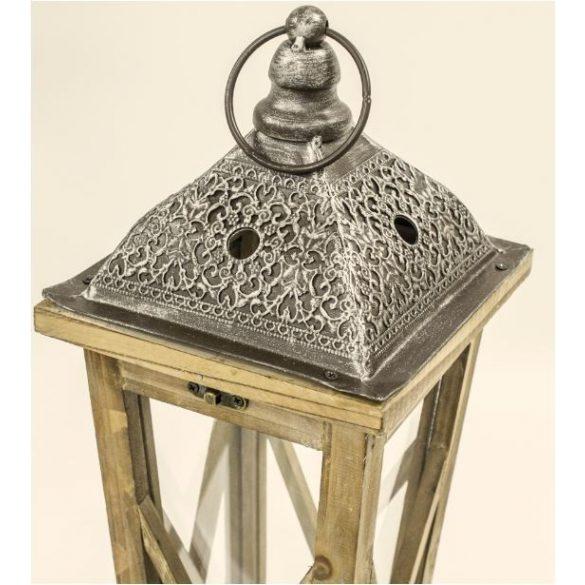 Lámpás álló szürke 124x23,5cm